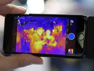 Llegan los móviles con cámara… térmica