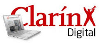 """Fuerte aumento de """"Clarín"""" entre la audiencia de los periódicos digitales en español"""
