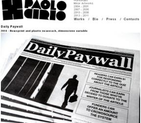 Una web paga por leer artículos pirateados
