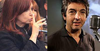 Ricardo Darín calienta el Facebook de Cristina Fernández
