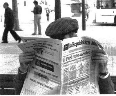 Se mueren los lectores de periódicos