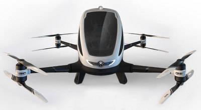 Comienzan las pruebas del primer dron para transportar pasajeros