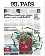 """Los trabajadores de """"El País"""" inician una huelga de tres días"""