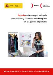 INTECO publica su Estudio sobre seguridad y continuidad de negocio en la PYME española