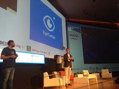 Presentación de EyeTwitter durante el TATGranada
