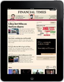Apuesta digital del �Financial Times� para sobrevivir