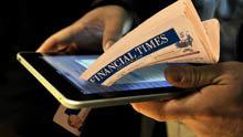 """El """"Financial Times"""" tendrá más lectores digitales que en papel a final de año"""