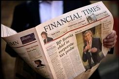 "Rumores de venta del ""Financial Times"""