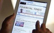 'Financial Times' pulveriza su récord de lectores de pago