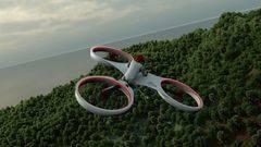 Así es el 'tricóptero' que quiere sustituir a los coches