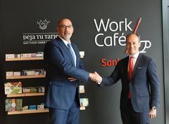 Acuerdo Santander-Telefónica para el 5G en banca