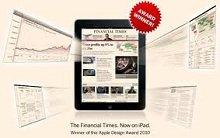 Las suscripciones del 'FT' en digital superan al papel