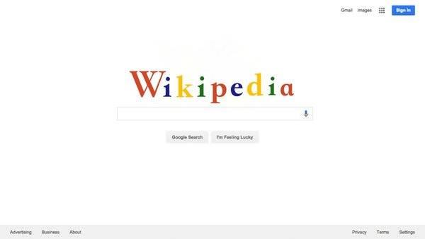 Wikipedia quiere su Google