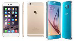 Comparativa entre iPhone 6s y Samsung Galaxy S6