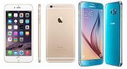 Comparativa entre iPhone 6s y Samsung Galaxy S6