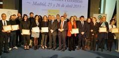 Premiados de la XIII edición de los Premios de la AEEPP.