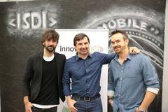 David Otero, Nacho de Pinedo y Javier Gayoso.