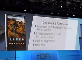 Dell lanza la tableta más fina del mercado con escáner 3D