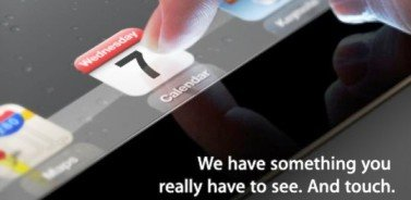 Invitaci�n  para la presentaci�n del iPad 3