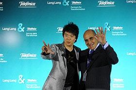 Telefónica presenta en Madrid a su nuevo embajador internacional, el pianista chino Lang Lang