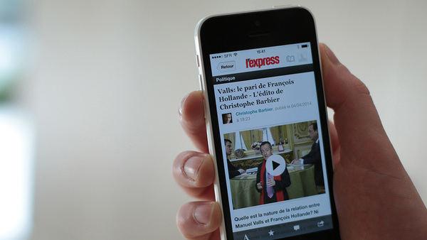 'Libération' y 'L'Express' priorizarán su edición digital