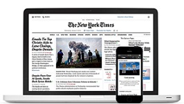 'The New York Times' espera sumar un millón de suscriptores más