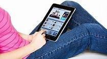 Los usuarios de tabletas prefieren leer en la pantalla que en papel