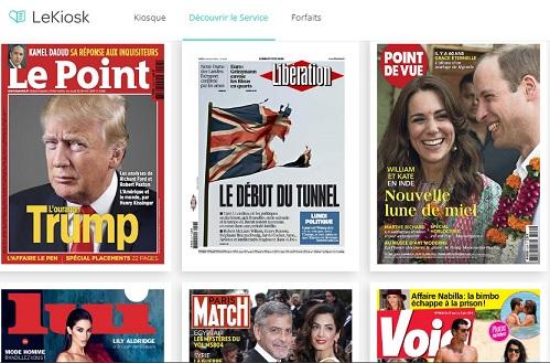 La prensa digital, un nuevo filón para las telecos francesas