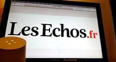 'Les Echos', disponible en Google Home