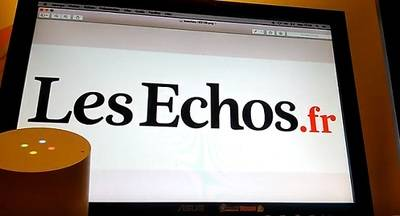 'Les Echos', disponible en Google Home