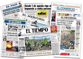 Sólo el 15% de los países latinoamericanos gozan de libertad de Prensa