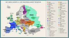 La Europa de las mil caras (y los 50 Estados)