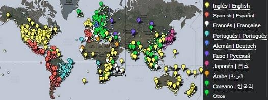 Newspaper Map: todos los periódicos del mundo a un solo clic