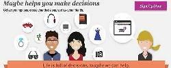 'MAYBE', la aplicación que nos ayuda a decidirnos