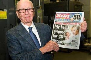 Rupert Murdoch revela la salud de su imperio mediático