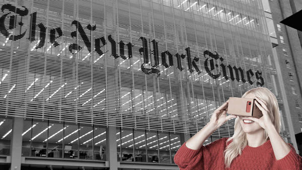 Lecciones de 'The New York Times' sobre Realidad Virtual
