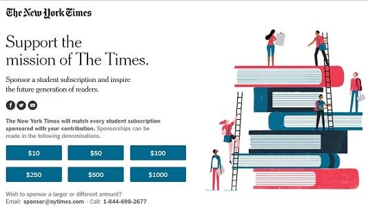 Las estrategias del 'New York Times' para ganar abonados