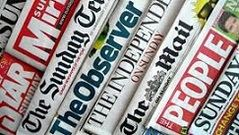 Los periódicos británicos se unen para no morir