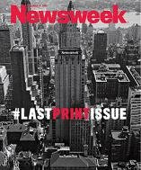 """Newsweek"" se despide del papel"