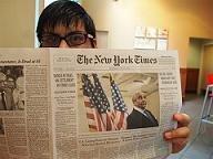 Una década más de vida para la edición impresa del 'New York Times'