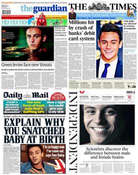 La lectura de periódicos se desploma en el Reino Unido