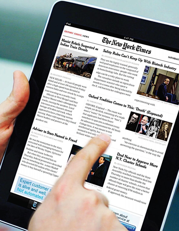 El 'New York Times' celebra su primer año de muro recortando el acceso gratuito