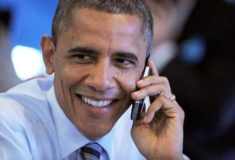 Obama sustituye su BlackBerry por un Samsung de 2013
