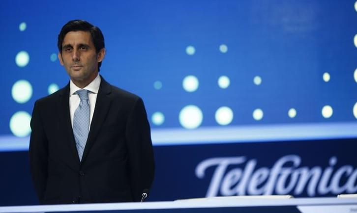 José María Álvarez-Pallete, presidente Telefonica Europa