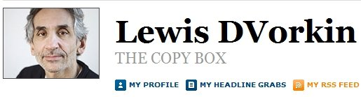 Pantallazo del blog de Lewis D'Vorkin en Forbes.com