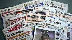 Los grupos de prensa españoles se desploman