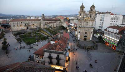 Centro de Pontevedra sin coches