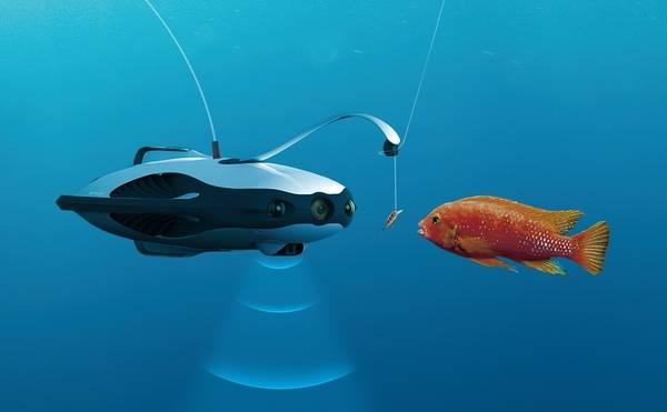 Llega el robot pescador