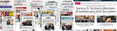 ¿Por qué los diarios españoles en papel siguen siendo idénticos a los de antes de la crisis?