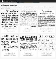 El lenguaje de los diarios españoles no se ha empobrecido en un siglo